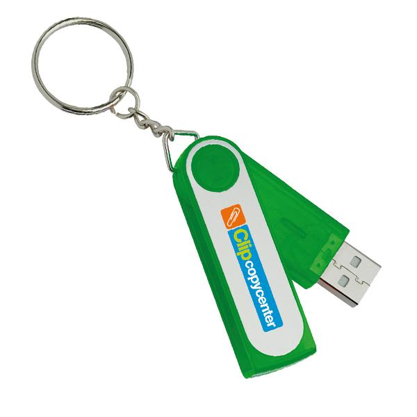537 NW - USB flash drive verde
